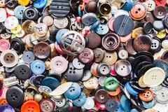 Gruppo di bottoni variopinti Immagine Stock Libera da Diritti