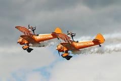Gruppo di Breitling Wingwalkers Immagini Stock