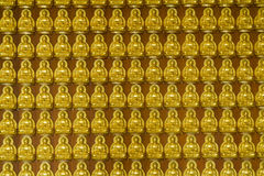 Gruppo di Buddha Immagine Stock