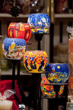 Gruppo di candelieri decorati Immagine Stock