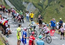 Gruppo di ciclisti - Tour de France 2015 Immagini Stock