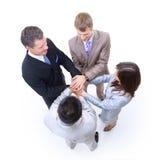 Gruppo di colleghi di affari Immagini Stock