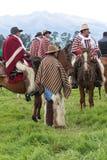 Gruppo di cowboy dalle Ande Fotografia Stock Libera da Diritti