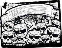 Gruppo di cranio Fotografia Stock Libera da Diritti