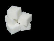 Gruppo di cubi dello zucchero Immagini Stock Libere da Diritti