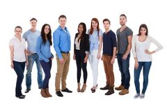 Gruppo di diversa gente fotografie stock