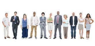 Gruppo di diversa gente di affari multietnica Immagine Stock