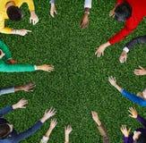 Gruppo di diversità di gente di affari che incontra concetto di pianificazione immagini stock