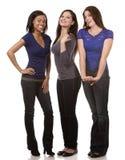 Gruppo di donne casuali Immagine Stock