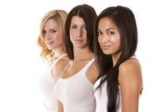 Gruppo di donne casuali Immagini Stock