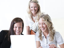 Gruppo di donne di affari Immagine Stock