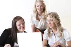 Gruppo di donne di affari Fotografia Stock