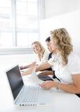Gruppo di donne di affari Fotografie Stock