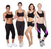 Gruppo di donne di forma fisica Immagine Stock