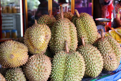 Gruppo di Durian Immagini Stock Libere da Diritti