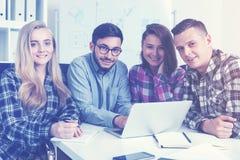 Gruppo di fondatori startup Immagini Stock