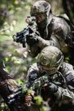 Gruppo di forze speciali dei soldati Fotografie Stock Libere da Diritti
