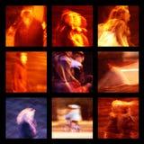 Gruppo di fotografie della gente Fotografie Stock