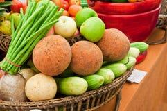 Gruppo di frutta e di verdura Immagine Stock Libera da Diritti