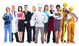 Gruppo di gente dei lavoratori Immagine Stock