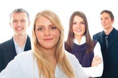 Gruppo di gente di affari Fotografie Stock