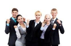 Gruppo di gente di affari Fotografia Stock