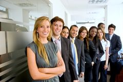 Gruppo di gente di affari Fotografia Stock Libera da Diritti