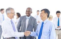 Gruppo di gente di affari di riunione Immagini Stock