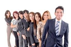 Gruppo di gente di affari ispanica Immagine Stock