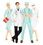 Gruppo di gente medica Fotografia Stock