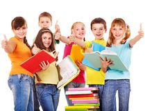 Gruppo di gente teenager. Fotografia Stock