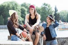 Gruppo di giovane adolescente Fotografie Stock