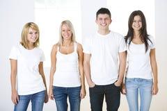 Gruppo di giovani amici Fotografie Stock
