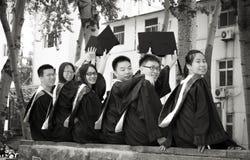 Gruppo 2 di graduazione Immagini Stock Libere da Diritti