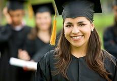 Gruppo di graduazione di allievi Fotografia Stock