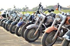 Gruppo di grande bici Immagini Stock Libere da Diritti