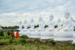 Gruppo di immagine bianca di Buddha Immagini Stock Libere da Diritti