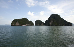 Gruppo di isole in Tailandia Fotografia Stock Libera da Diritti