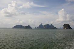 Gruppo di isole in Tailandia Immagine Stock