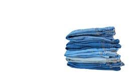 Gruppo di jeans del denim Immagini Stock Libere da Diritti