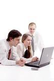 Gruppo di lavoro che creativing Immagine Stock