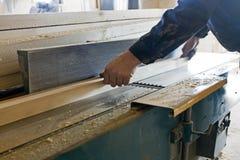 Gruppo di lavoro del carpentiere Fotografie Stock Libere da Diritti