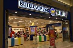 Gruppo di lavoro dell'Configurazione-UN-orso al centro commerciale dell'America a Bloomington, Minnesota Fotografia Stock