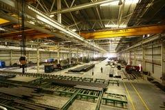 Gruppo di lavoro della fabbrica Immagine Stock