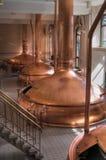 Gruppo di lavoro della fabbrica di birra Immagine Stock Libera da Diritti