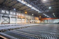 Gruppo di lavoro electrowinning dello zinco immagine stock