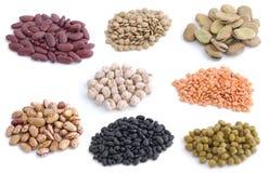 Gruppo di legumi immagini stock