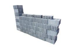 Gruppo di mattoni del cemento Immagini Stock Libere da Diritti
