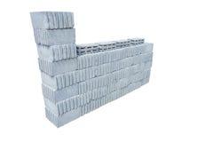 Gruppo di mattoni del cemento Immagine Stock Libera da Diritti