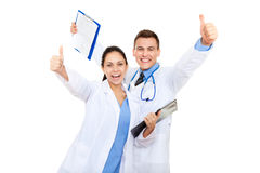 Gruppo di medici Immagini Stock Libere da Diritti